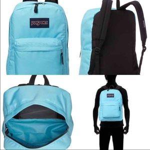 Jansport Handbags - JANSPORT MAMMOTH BLUE SUPERBREAK