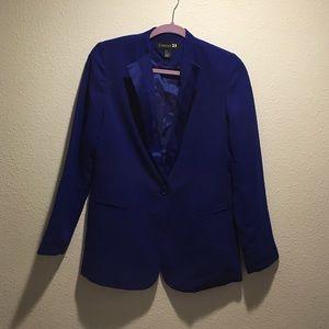 Forever 21 oversized royal blue blazer