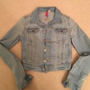 H&M Denim Jacket size 2