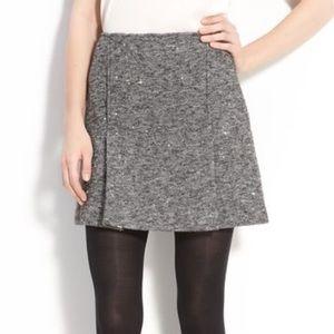 Theory Dresses & Skirts - Theory Gray Alpaca Wool Blend Tweed Mini Skirt