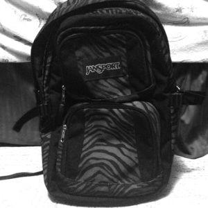 Zebra Printed JanSport Backpack