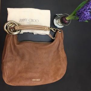 Jimmy Choo Solar large Hobo shoulder bag