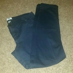 blue old navy khakis pants on Poshmark