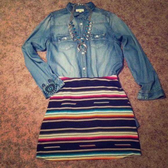 e52c70c05 Double D Ranchwear Dresses & Skirts - Double D Ranchwear serape skirt