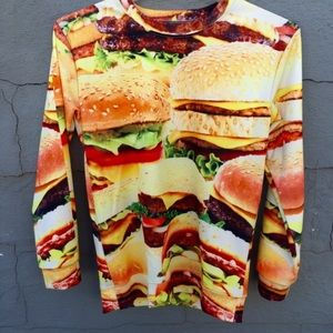 Shop Jeen Sweaters - BURGER SWEATER 🍔