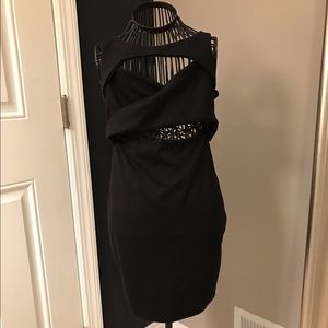 Lulu's Cutout Mini Dress