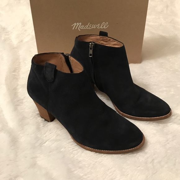 58 madewell shoes blue suede billie boot from