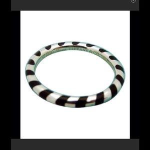 Tiffany & Co. Jewelry - Tiffany & Co. Black enamel stacking fashion ring