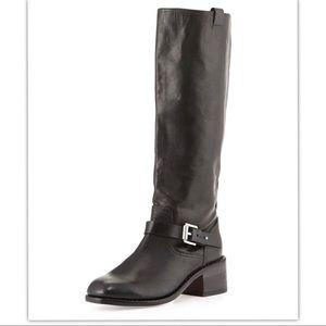 New Rag &bone Leather Norton Tall Riding Boots sz8