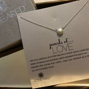 Dogeared Jewelry - Pearls of love necklace
