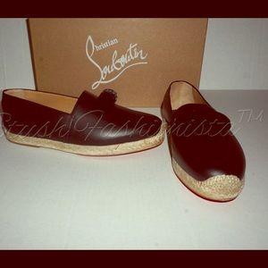 Christian Louboutin Other - Christian Louboutin ESPOIL Men's flats shoes