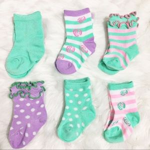 Other - Green Baby Sock Set- NWOT