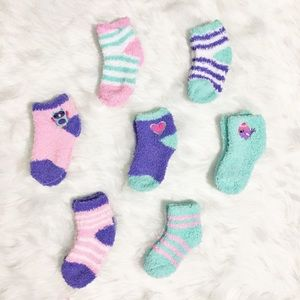 Other - Fuzzy Baby Sock Set NWOT