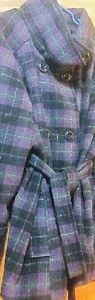 Jackets & Blazers - Plus size ladies Winter Coat w/belt Tie 3X