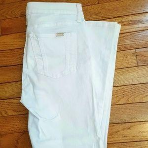 Jennifer Lopez Denim - Jennifer Lopez White jeans Size 8R