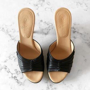 CHANEL Shoes - C H A N E L • A u t h e n t i c • H e e l s• Sz7.5