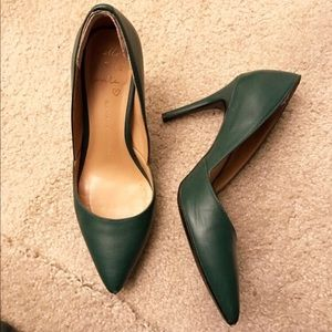 Banana Republic Shoes - Dark green pumps