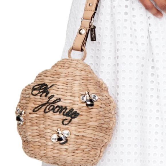 Attractive kate spade Bags | Hp Wicker Honey Queen Bee Hive Down Rabbit Hole  DO05