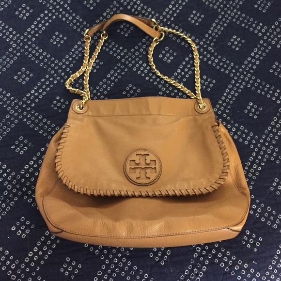 ebfff8391d77 Tory Burch Marion Leather bag. M 587ce8842ba50a53a50066a2