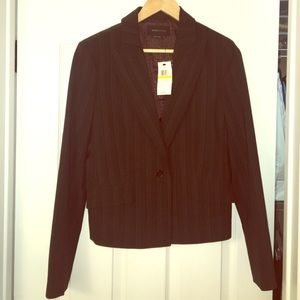 Never worn with tags. BCBG suit jacket.