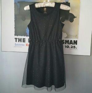 Total Girl Other - Girls-Sparkly black dress
