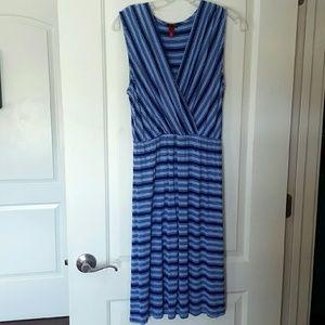Merona medium striped dress