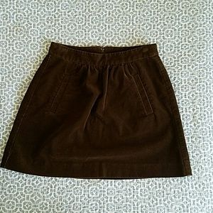 J.Crew Corduroy Mini-skirt