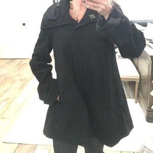 ABS silver label wool swing coat