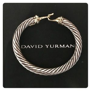 David Yurman Jewelry - DAVID YURMAN BUCKLE CABLE BRACELET