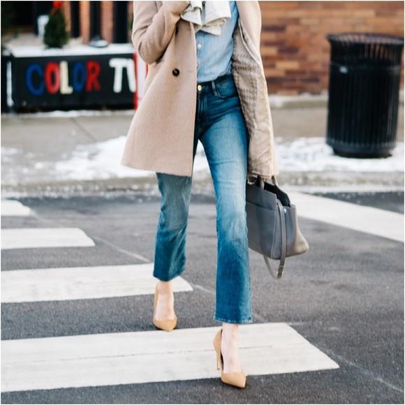 Le High Distressed Cropped Straight-leg Jeans - Mid denim Frame Denim dURBgpFgiF