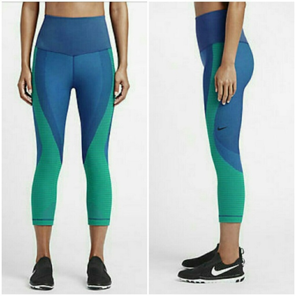 f0e8f8e2e1d14 Nike Pants   Nwt Training Zoned Sculpt Tight Fit Capri   Poshmark