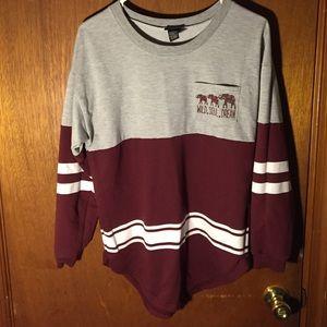 Scoop sweatshirt!