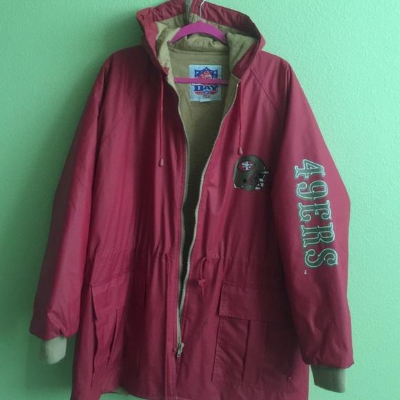 huge selection of e2dae d9b36 San Francisco 49ers Sports Jacket Rain Coat