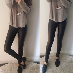 boutique Pants - 🆕 Skinny LINED leather look legging
