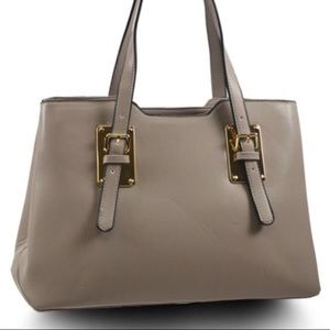 NWT Grey Handbag, With Duster Bag.