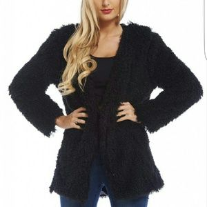 AX Paris Jackets & Blazers - A/X Paris Shaggy Jacket