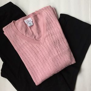 Oh Baby by Motherhood Sweaters - Pink maternity sweater