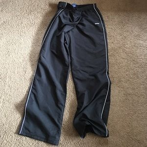 Reebok jogging pants.