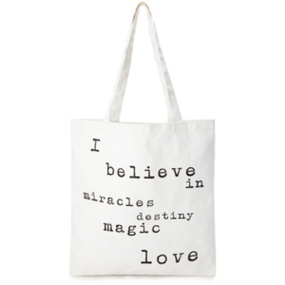 Poshmark Forever Tote Quote Bag BagsCute 21 MSVpUz