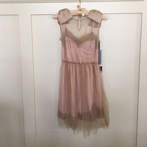 Rodarte Dresses & Skirts - NWT XS Rodarte for Target Bow Sleeve Slip Dress