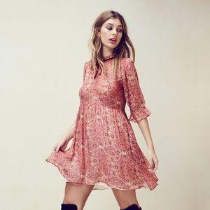 Authentic for love and lemons Geneva Mini dress
