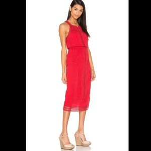 Joie Dresses & Skirts - ❌EXTRA 50% OFF❌Joie red midi maxi dress