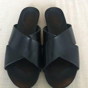 Shoes - ATP Atelier black Doris sandals