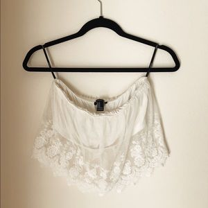 Forever 21 Lace Bandeau