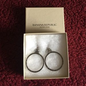 Banana Republic Hoop Earrings