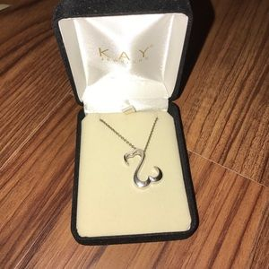 May Jewelers Open Heart necklace