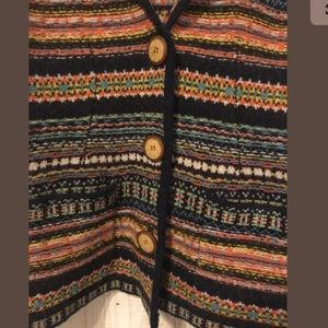 27b5dfb749fe Anthropologie Jackets   Coats - Anthropologie Sparrow wool Nordic Fair isle  blazer