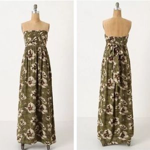 Anthropologie Cultivated Maxi Dress