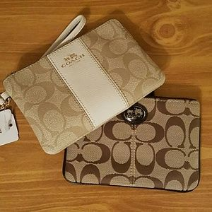 Coach Handbags - Coach Wristlet Bundle