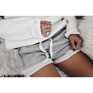 Sincerely Jules Lux Jogger Shorts